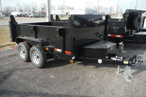2021 Quality Steel 10 FT DUMP 10K AXLES for sale at Bryan Auto Depot in Bryan OH