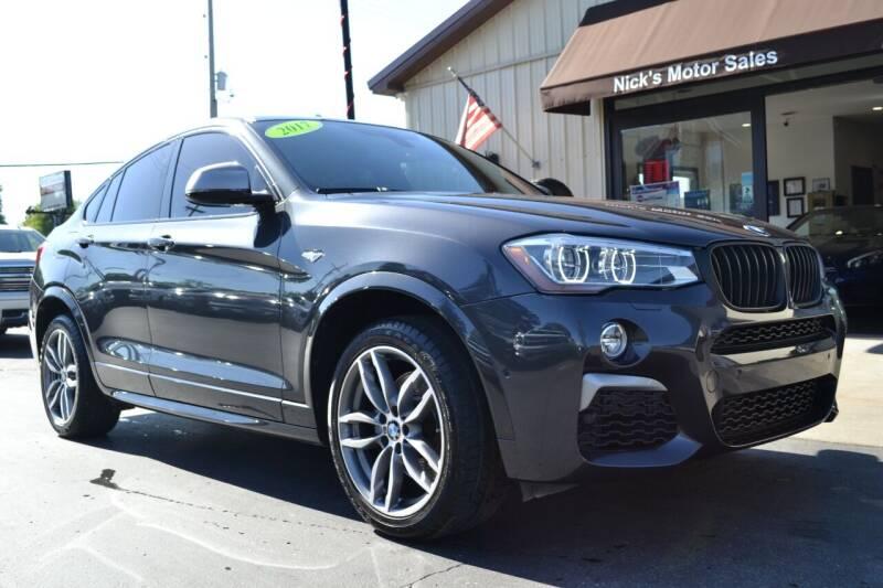 2017 BMW X4 for sale in Kalkaska, MI