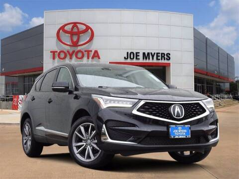 2019 Acura RDX for sale at Joe Myers Toyota PreOwned in Houston TX