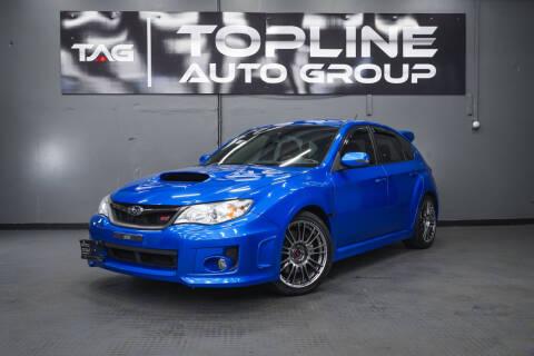 2012 Subaru Impreza for sale at TOPLINE AUTO GROUP in Kent WA