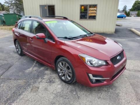 2016 Subaru Impreza for sale at Knights Autoworks in Marinette WI