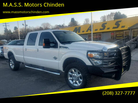 2015 Ford F-350 Super Duty for sale at M.A.S.S. Motors Chinden in Garden City ID