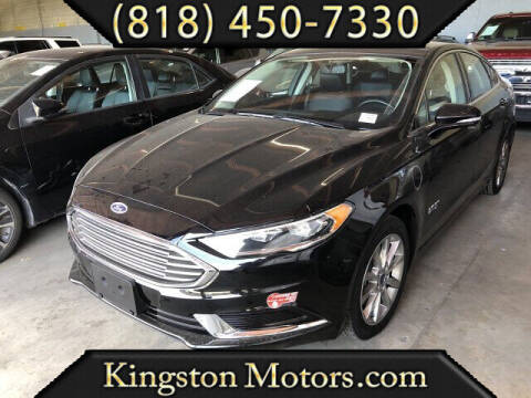 2018 Ford Fusion Energi for sale at Kingston Motors in North Hollywood CA