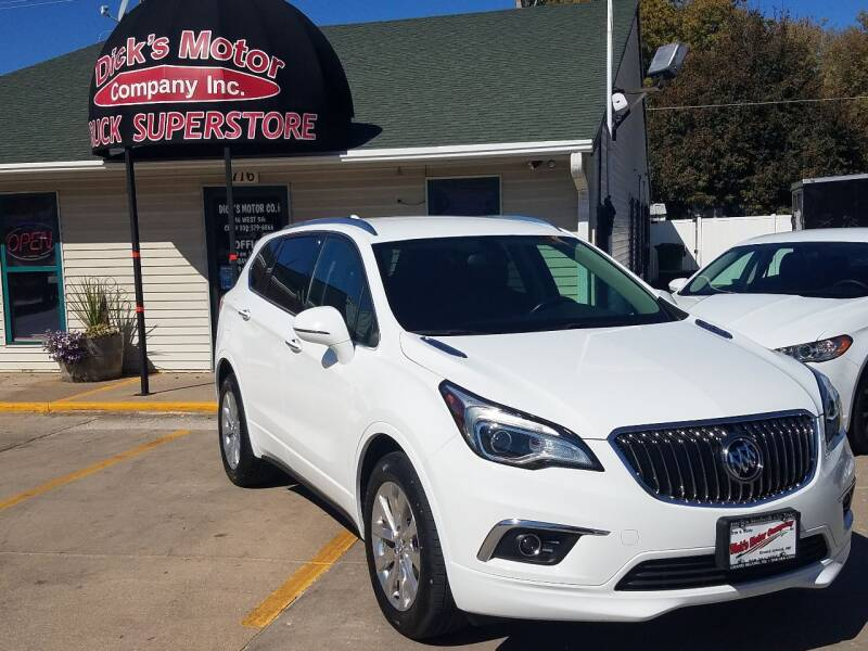 2017 Buick Envision for sale at DICK'S MOTOR CO INC in Grand Island NE