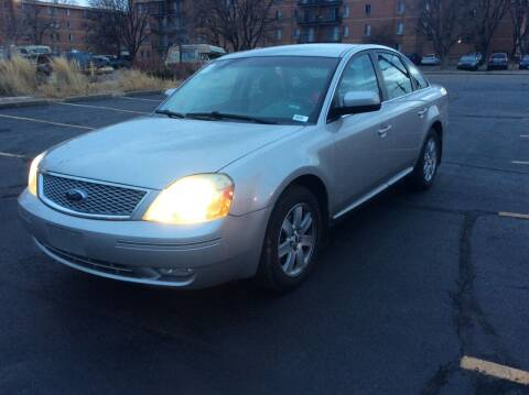 2007 Ford Five Hundred for sale at AROUND THE WORLD AUTO SALES in Denver CO