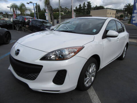 2013 Mazda MAZDA3 for sale at Eagle Auto in La Mesa CA