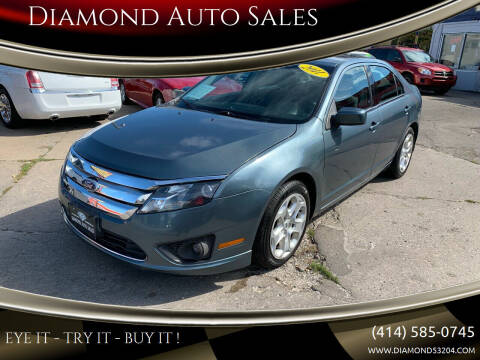 2011 Ford Fusion for sale at Diamond Auto Sales in Milwaukee WI