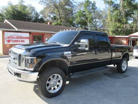 2008 Ford F-350 Super Duty for sale at Auto Liquidators of Tampa in Tampa FL