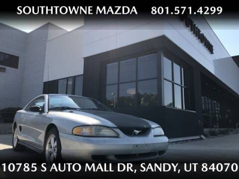 1994 Ford Mustang for sale at Southtowne Mazda of Sandy in Sandy UT