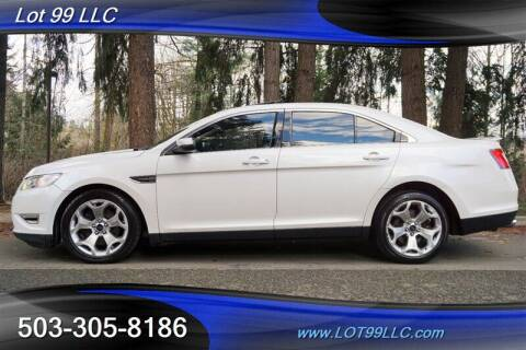 2010 Ford Taurus for sale at LOT 99 LLC in Milwaukie OR