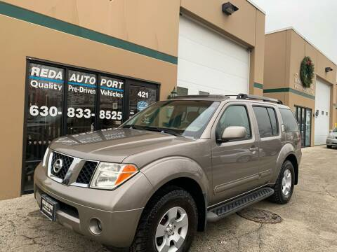 2007 Nissan Pathfinder for sale at REDA AUTO PORT INC in Villa Park IL