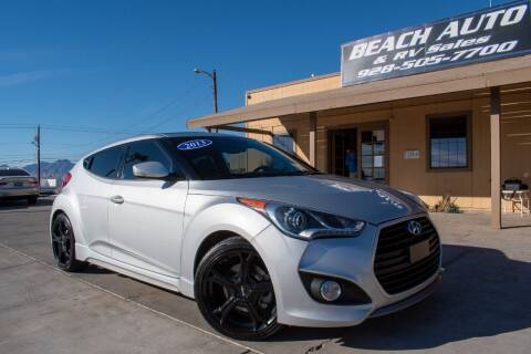 2013 Hyundai Veloster for sale at Beach Auto and RV Sales in Lake Havasu City AZ
