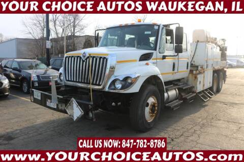 2009 International WorkStar 7400 for sale at Your Choice Autos - Waukegan in Waukegan IL