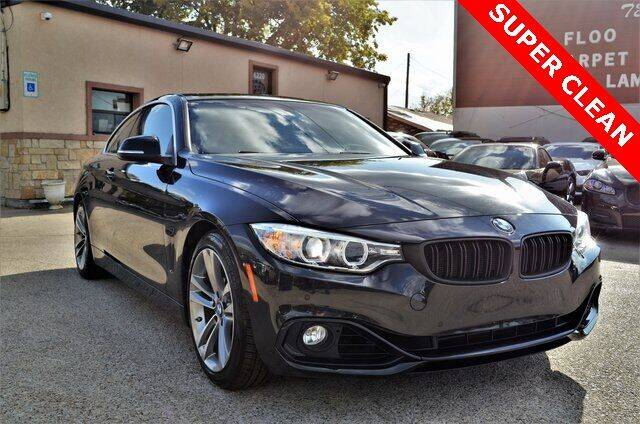 2016 BMW 4 Series for sale at LAKESIDE MOTORS, INC. in Sachse TX