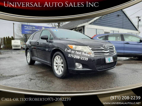 2009 Toyota Venza for sale at Universal Auto Sales Inc in Salem OR