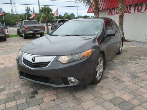2011 Acura TSX for sale at Affordable Auto Motors in Jacksonville FL