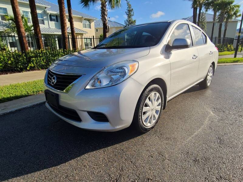 2013 Nissan Versa for sale at HD CARS INC in Hollywood FL