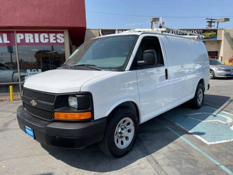 2012 Chevrolet Express Cargo for sale at Sanmiguel Motors in South Gate CA