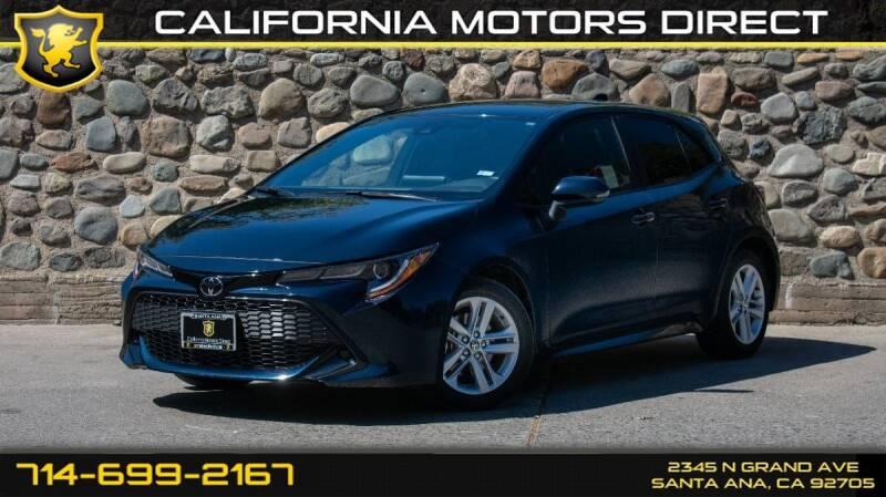 2019 Toyota Corolla Hatchback for sale in Santa Ana, CA