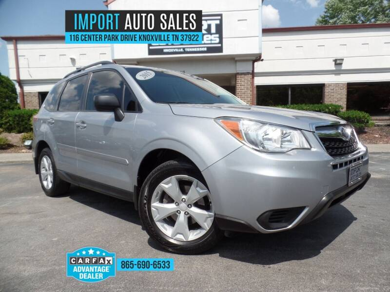 2015 Subaru Forester for sale at IMPORT AUTO SALES in Knoxville TN
