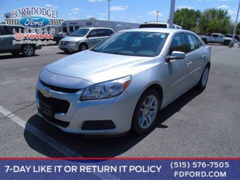2016 Chevrolet Malibu Limited for sale at Fort Dodge Ford Lincoln Toyota in Fort Dodge IA