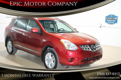 2012 Nissan Rogue for sale at Epic Motor Company in Chantilly VA
