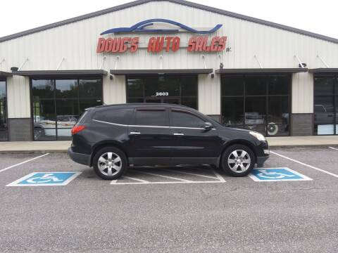 2011 Chevrolet Traverse for sale at DOUG'S AUTO SALES INC in Pleasant View TN