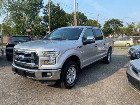 2015 Ford F-150 for sale at American Best Auto Sales in Uniondale NY