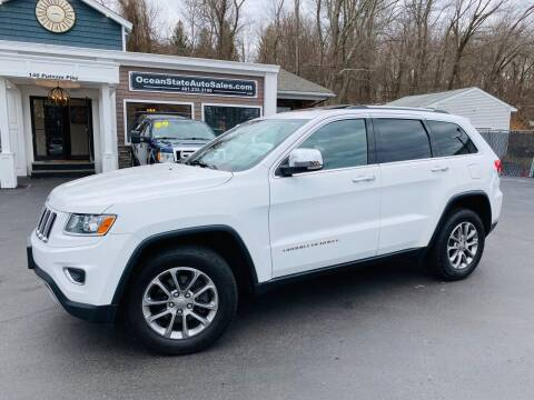 2014 Jeep Grand Cherokee for sale at Ocean State Auto Sales in Johnston RI