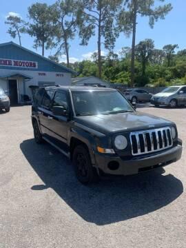 2010 Jeep Patriot for sale at Supreme Motors in Tavares FL