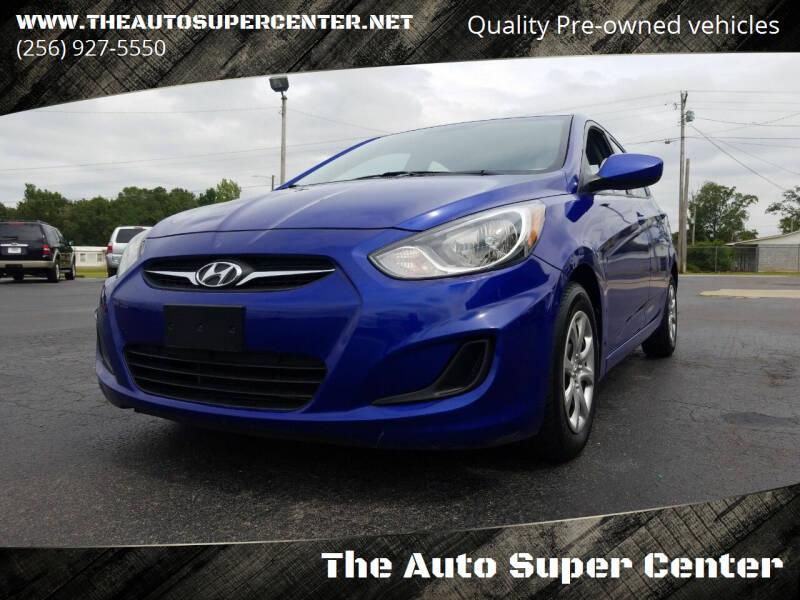 2012 Hyundai Accent for sale at The Auto Super Center in Centre AL