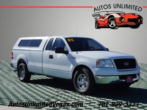 2005 Ford F-150 for sale at Autos Unlimited in Las Vegas NV
