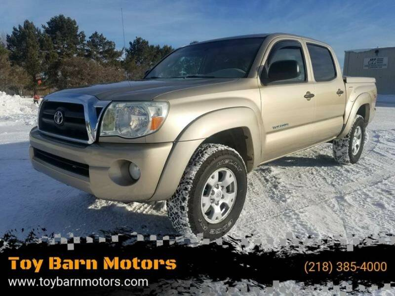 2008 Toyota Tacoma for sale at Toy Barn Motors in New York Mills MN