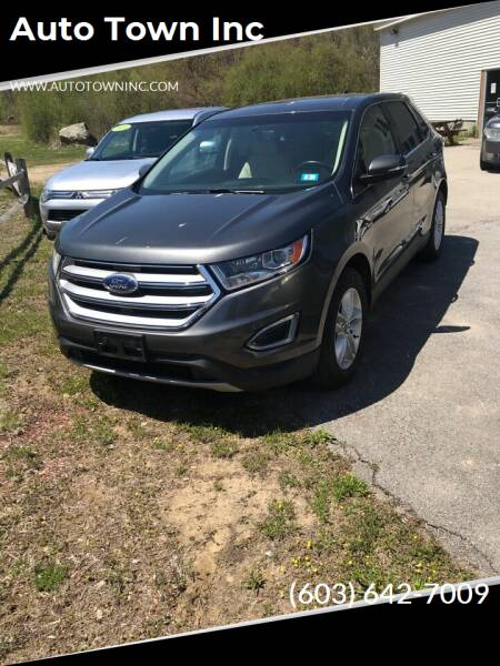 2016 Ford Edge for sale at Auto Town Inc in Brentwood NH