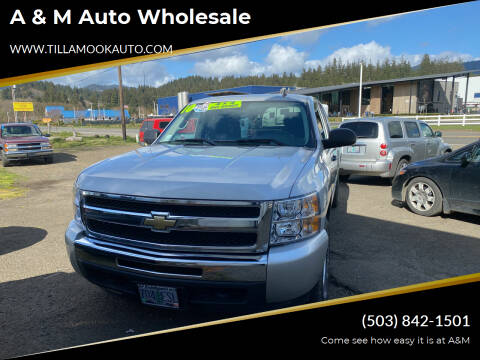 2010 Chevrolet Silverado 1500 for sale at A & M Auto Wholesale in Tillamook OR
