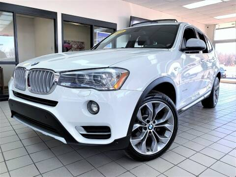 2016 BMW X3 for sale at SAINT CHARLES MOTORCARS in Saint Charles IL