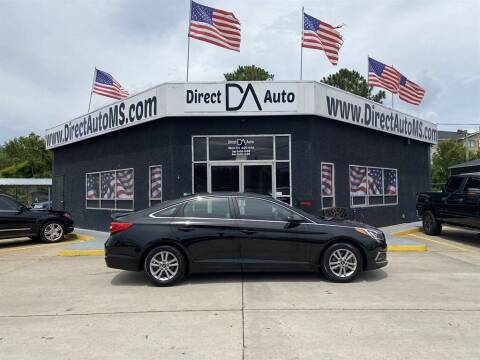 2016 Hyundai Sonata for sale at Direct Auto in D'Iberville MS