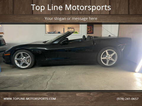 2005 Chevrolet Corvette for sale at Top Line Motorsports in Derry NH