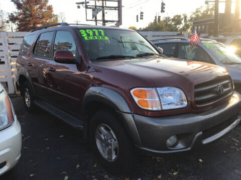 2003 Toyota Sequoia for sale at Klein on Vine in Cincinnati OH