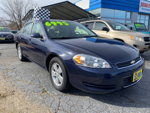 2008 Chevrolet Impala for sale at Brian Jones Motorsports Inc in Danville VA