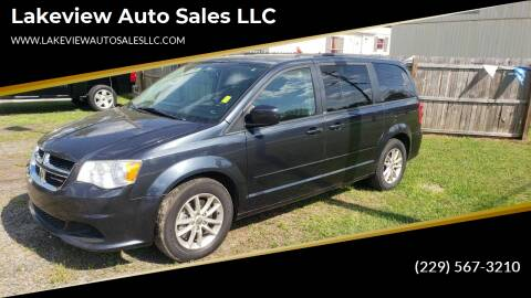 2014 Dodge Grand Caravan for sale at Lakeview Auto Sales LLC in Sycamore GA