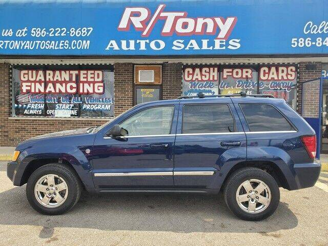 2005 Jeep Grand Cherokee for sale at R Tony Auto Sales in Clinton Township MI
