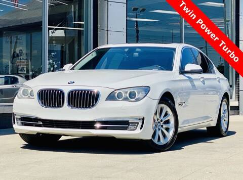 2014 BMW 7 Series for sale at Carmel Motors in Indianapolis IN