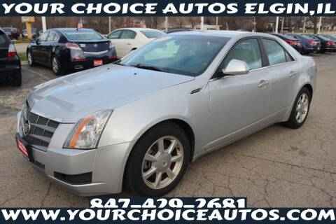 2009 Cadillac CTS for sale at Your Choice Autos - Elgin in Elgin IL