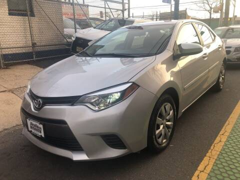 2016 Toyota Corolla for sale at DEALS ON WHEELS in Newark NJ