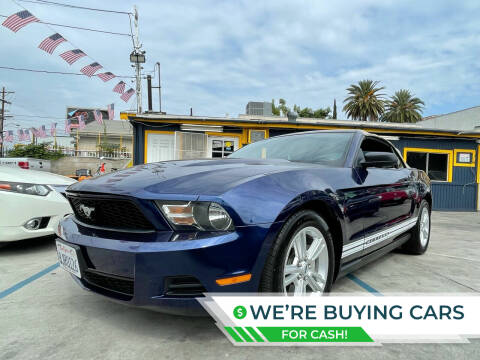 2010 Ford Mustang for sale at FJ Auto Sales North Hollywood in North Hollywood CA