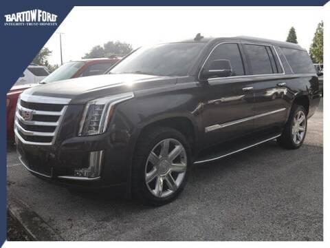 2018 Cadillac Escalade ESV for sale at BARTOW FORD CO. in Bartow FL