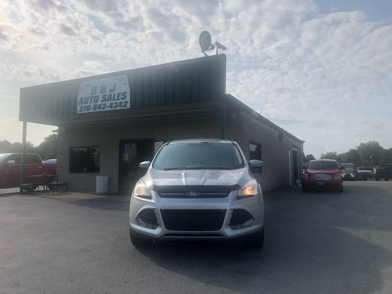 2015 Ford Escape for sale at B & J Auto Sales in Auburn KY
