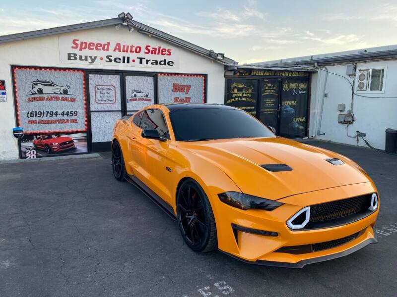 2018 Ford Mustang for sale at Speed Auto Sales in El Cajon CA