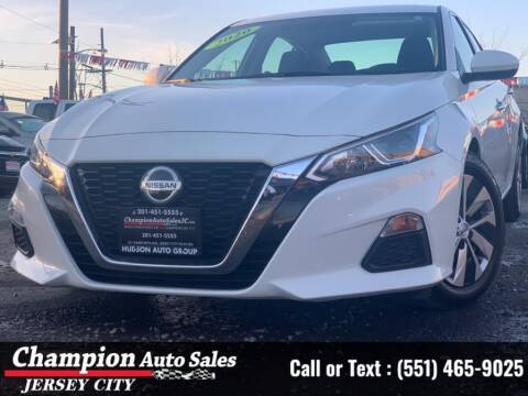 2020 Nissan Altima for sale at CHAMPION AUTO SALES OF JERSEY CITY in Jersey City NJ
